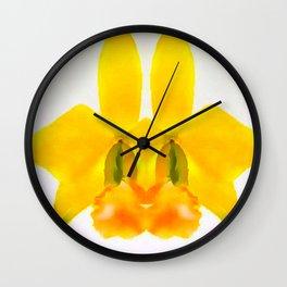 LAELIA PUMILA ABSTRACT BUNNY FACE Wall Clock