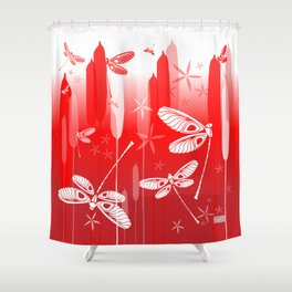 CN DRAGONFLY 1013 Shower Curtain