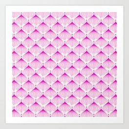 Pink Bulbs Art Print