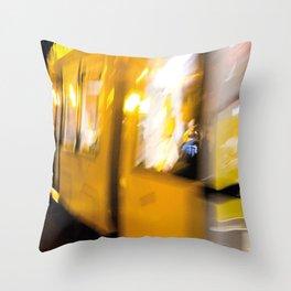 M Tram in Berlin Throw Pillow