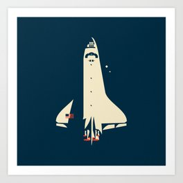 The Shuttle Art Print