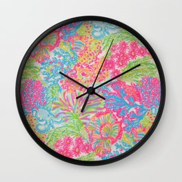 Inspired by lilly Wall Clock