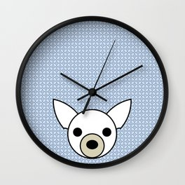 Pop Dog Chihuahua Wall Clock