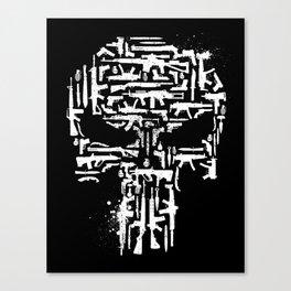 Vigilante Weaponry Canvas Print