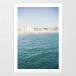 Santa Monica Beach II Art Print