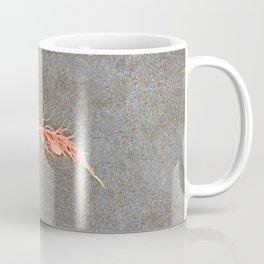 Coral Colored Seaweed Coffee Mug