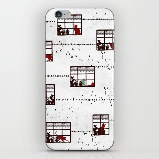 Cat Moments iPhone & iPod Skin