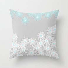 Daisy Dance Throw Pillow
