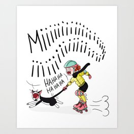 Rock and rollers Art Print