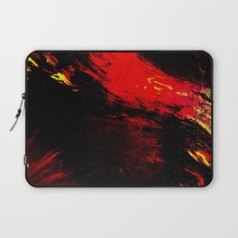 Abstract Heat by Robert S. Lee Laptop Sleeve