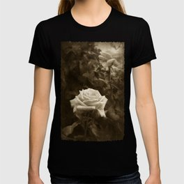 Pink Roses in Anzures 5 Antiqued T-shirt