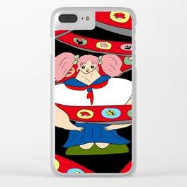 SUSHI GIRL   Takahashi-chan Clear iPhone Case