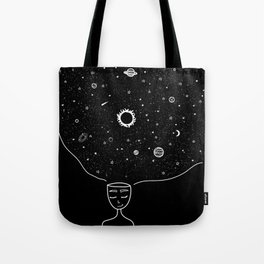 Galaxy in your Mind Tote Bag