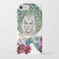 cosmic iPhone & iPod Cases featuring Cosmic by Caroline Augusta