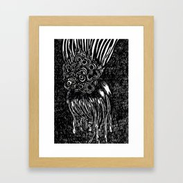 FM #3 (Mini Print) Framed Art Print