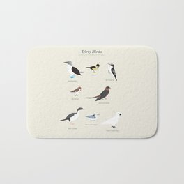 Dirty Birds Bath Mat