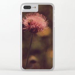 flower, honey Clear iPhone Case