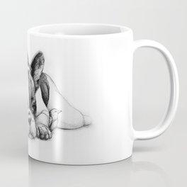 Frenchie and the Birds Coffee Mug