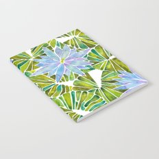 Water Lilies – Lavender & Green Palette Notebook