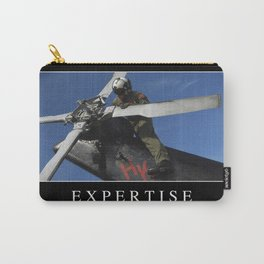 Expertise: Inspirational Quote and Motivational Poster Carry-All Pouch