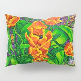 View of Tulips Pillow Sham