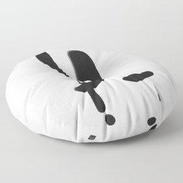 a Yule Lad visiting Tokyo #2 Floor Pillow