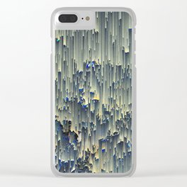 icy window Clear iPhone Case