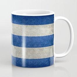 Cuban national flag- vintage retro version Coffee Mug
