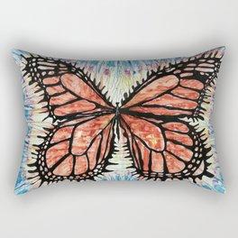 I can survive the deepest hurt Rectangular Pillow