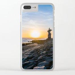 Canggu Sunsets Clear iPhone Case