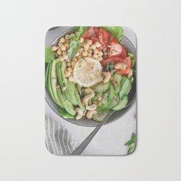 Healthy lunch bowl Bath Mat