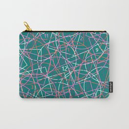 Geometry and math abstract pattern Carry-All Pouch