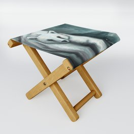Spirit Bear Folding Stool