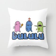 Bululu Monsters Throw Pillow