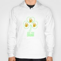 patrick Hoodies featuring St Patrick  by Barbo's Art