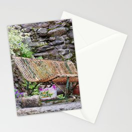 The bench Stationery Cards
