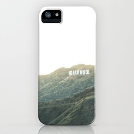 Travel photography A way to Hollywood II iPhone Case