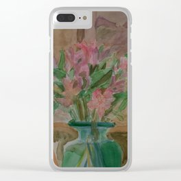 Wilting in the Hallway Clear iPhone Case