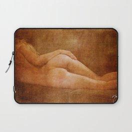 Julie Darling 0853 Rustic - Nue Nude ~ Vintage Art  ~ Bodyscape of a Woman Laptop Sleeve