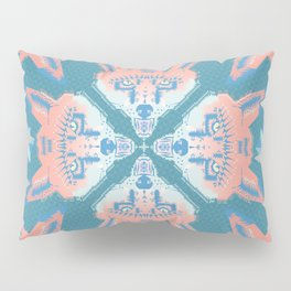Pastel Fox Pattern Pillow Sham
