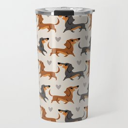 Dachshund Pups Travel Mug