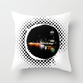 Brisbane City Throw Pillow