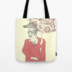 hair hat Tote Bag