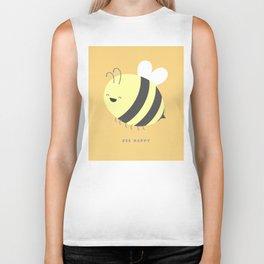 Bee Happy Biker Tank