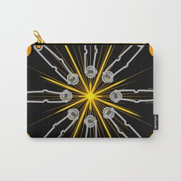 Flint Striker Mandala Graphic Science Pride Carry-All Pouch