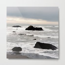 Stormy day. Metal Print