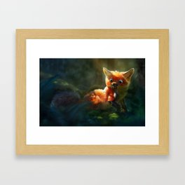 Not quite right Framed Art Print