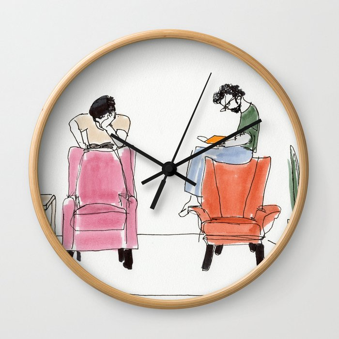 looking for the answers Wall Clock