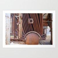 Factory Art Print