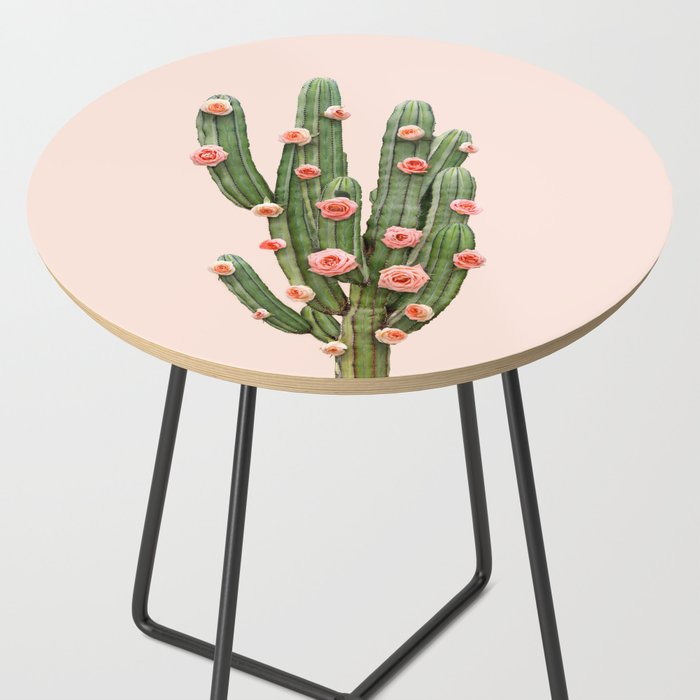 CACTUS AND ROSES Side Table